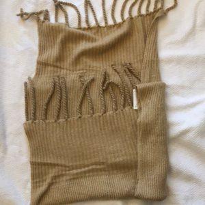Free People jaden knit Blanket Scarf